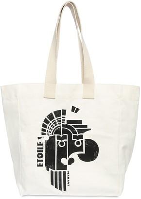 Isabel Marant Printed Cotton Tote Bag