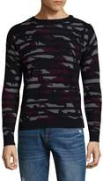 Zadig & Voltaire Men's Camouflage Wool-Cashmere Sweater