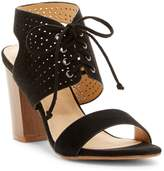 Restricted Carolyn High Heel Lace-Up Sandal