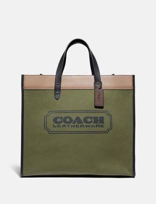 Coach Field Tote 40 In Colorblock