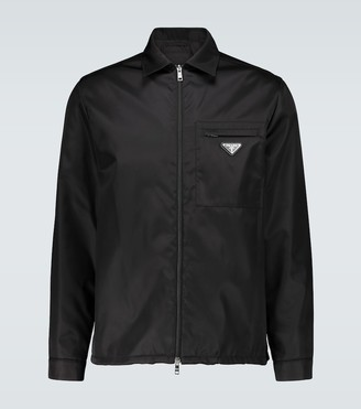 Prada Nylon gabardine zipped jacket