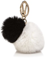 Furla Bubble Rabbit Fur Bag Charm