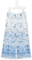 Ermanno Scervino floral print trousers