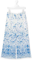 Ermanno Scervino TEEN floral print trousers
