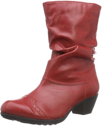 Andrea Conti Women's 3009213 Warm lined classic boots half length