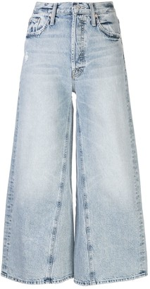 Mother The Enchanter cropped jeans