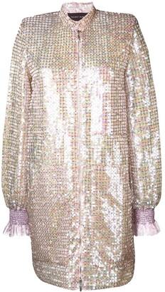 Talbot Runhof Sokoto sequinned dress