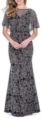 Decode 1.8 Caviar Beaded Mermaid Gown