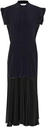 Chloé Silk crepe midi dress