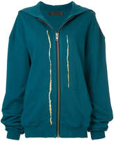 Haider Ackermann hooded sweatshirt