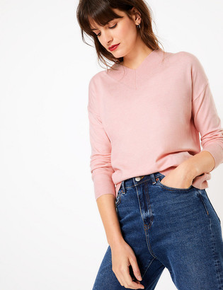 Marks and Spencer Soft Touch Long Sleeve Jumper