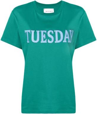 Alberta Ferretti embroidered tuesday T-shirt