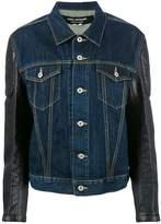 Junya Watanabe printed denim jacket
