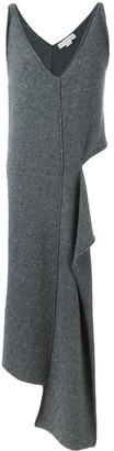 Stella McCartney Cut-Out Long Asymmetric Jumper