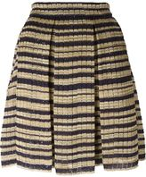 Ermanno Scervino striped knit skirt - women - Silk/Polyester/Viscose - 44