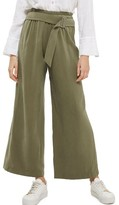 Topshop Women's Belted Wide Leg Trousers