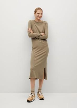 MANGO Fine knitted dress