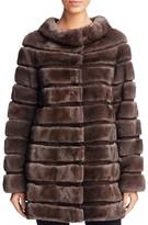 Maximilian Furs x Carmen Marc Valvo Mink Fur Coat