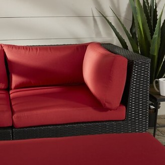 Breakwater Bay Zoar Patio Chair with Cushions