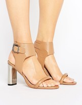 Sol Sana Maria Buckle Detail Heeled Sandals