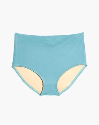 Madewell Second Wave Retro High-Waisted Bikini Bottom