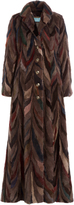 Roberto Cavalli Floor Length Mink Coat