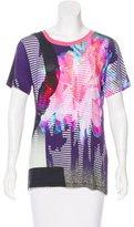 Prabal Gurung Abstract Print Short Sleeve T-Shirt