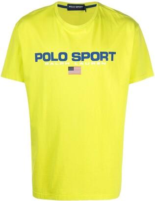 Polo Ralph Lauren Sport logo-print cotton T-shirt