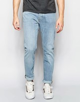 Weekday Wednesday Slim Jeans in Stretch Fun Light Wash