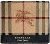 Burberry Haymarket Check International bi-fold wallet