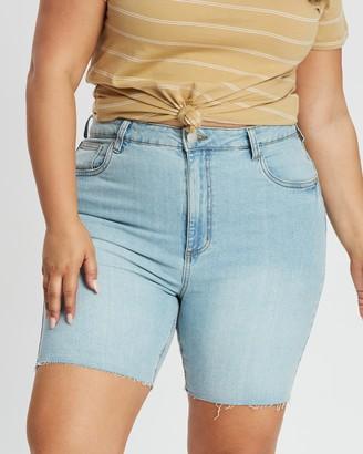 Cotton On Curve Curve Bermuda Denim Shorts