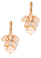 New York & Co. Faux-Pearl Cluster Earring
