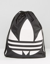 adidas Drawstring Backpack in Black