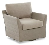 Heywood Swivel Patio Chair with Sunbrella Cushions Brayden Studio