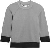 Theory Gail cotton-blend jersey sweatshirt