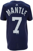 Majestic Kids' Mickey Mantle New York Yankees Official Player T-Shirt