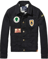 Scotch & Soda Worked-Out Denim Jacket