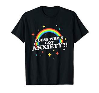 GUESS Who's Got Anxiety T-Shirt