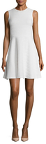 Shoshanna Textured Fit And Flare Dress