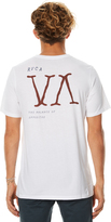 RVCA Letter Press Mens Tee White