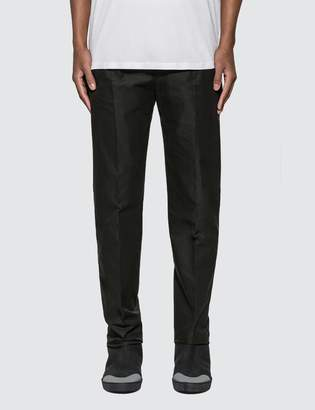 Alexander McQueen Fitted Tailored Pants With Front Zipper Detail