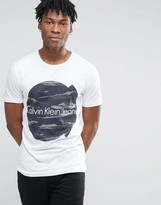 Calvin Klein Jeans Cracked Logo T-shirt
