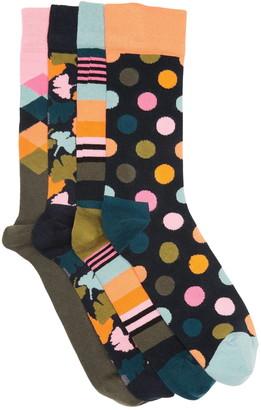 Happy Socks Ginko Crew Socks Gift Box - Pack of 4
