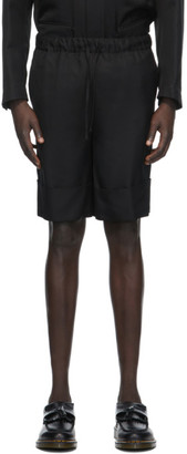 Opening Ceremony Black Deep Cuff Shorts