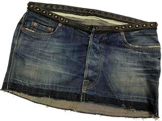 HTC Blue Denim - Jeans Skirt for Women