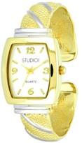 Studio Time Women's Studio Time® Bangle Watch - Gold