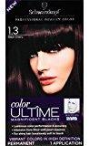 Schwarzkopf Ultime Hair Color Cream, 1.3 Black Cherry, 2.03 Ounce