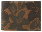 Jack Spade Floral Camo Bifold Index Wallet