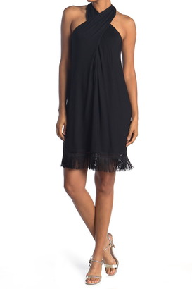 Trina Turk Sumatra Fringe Hem Dress