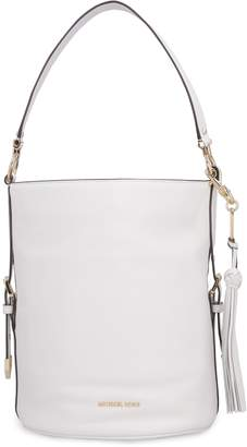 Michael Kors Brooke Leather Bucket Bag
